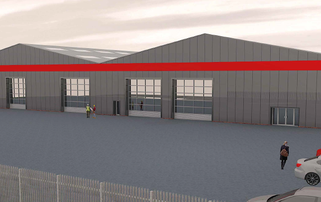 Thumbnail Industrial to let in G3, Arrol Road, Wester Gourdie Industrial Estate, Dundee