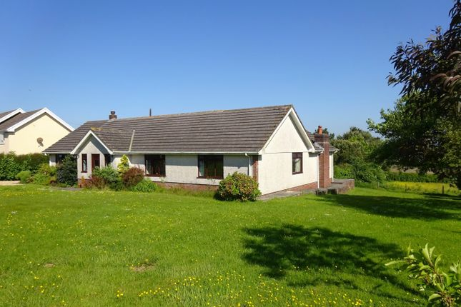 Thumbnail Detached bungalow for sale in Courtlands, Llanrhidian, Gower, Swansea