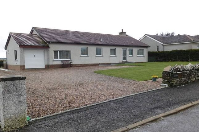 Thumbnail Detached bungalow for sale in Craigend, Crescent Street, Halkirk, Caithness