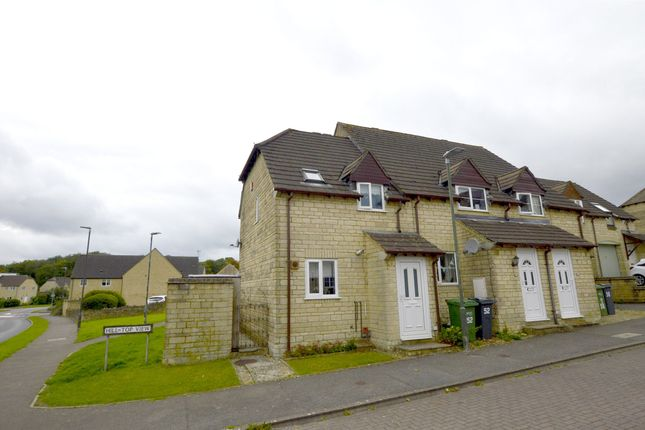 Thumbnail End terrace house for sale in Hill Top View, Chalford, Stroud, Gloucestershire
