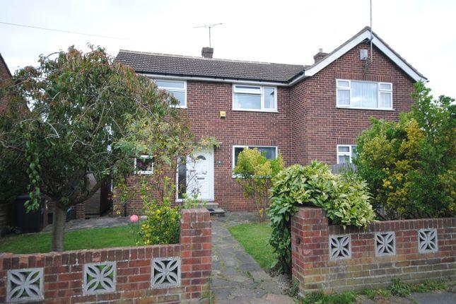 Thumbnail Semi-detached house for sale in Moss Walk, Moulsham Lodge, Chelmsford