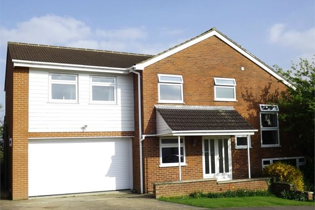 Thumbnail Detached house for sale in Cowper Court, Eaton Ford, St. Neots