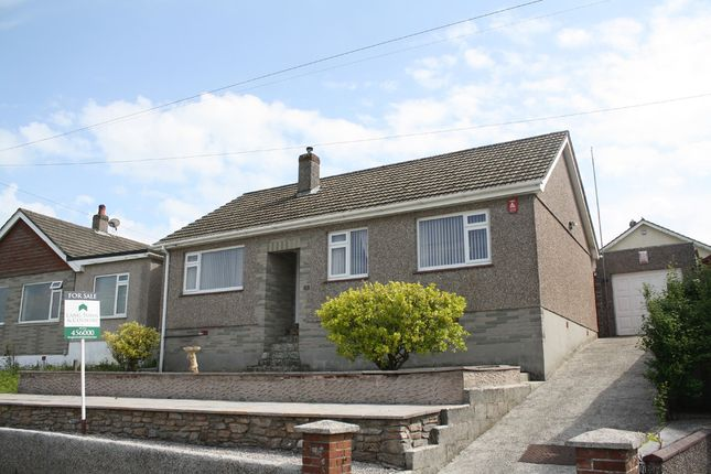Thumbnail Detached bungalow to rent in Shortwood Crescent, Plymstock, Plymouth