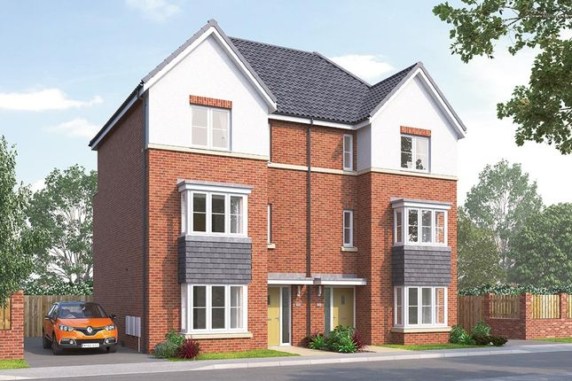 """Thumbnail Semi-detached house for sale in """"The Thirston"""" at Northgate Lodge, Skinner Lane, Pontefract"""