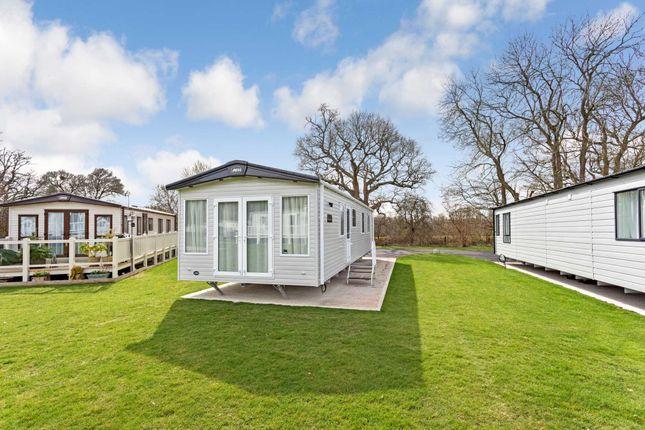 Thumbnail Mobile/park home for sale in Jackrells Lane, Southwater, Horsham