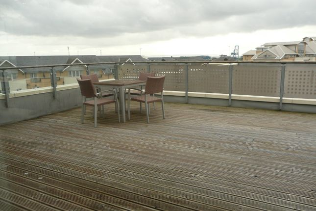 Thumbnail 2 bed flat to rent in Sirius House, Falcon Drive, Cardiff