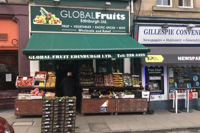 Thumbnail Retail premises for sale in Gillespie Place, Edinburgh