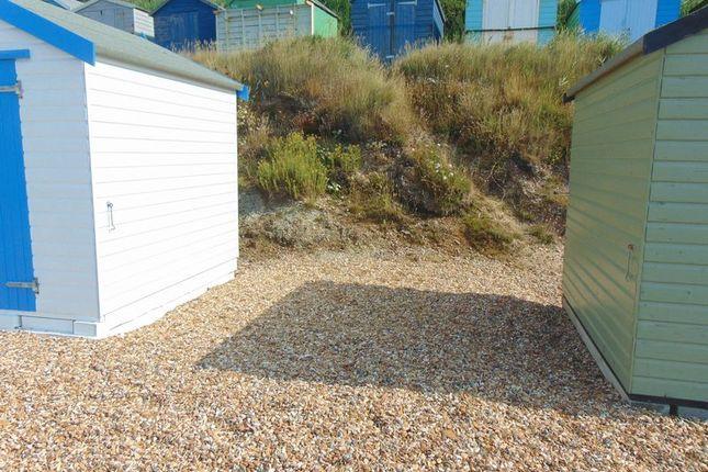 Thumbnail Land for sale in Beach Hut Plot, Hordle Cliffs, Near Milford-On-Sea