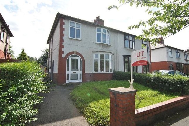 Thumbnail Semi-detached house for sale in Blackpool Road, Preston