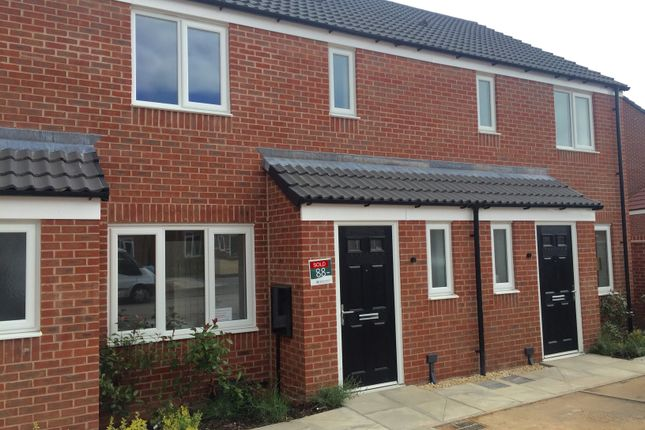 Thumbnail Town house to rent in Nightingale Close, Kings Clipstone, Mansfield, Notts
