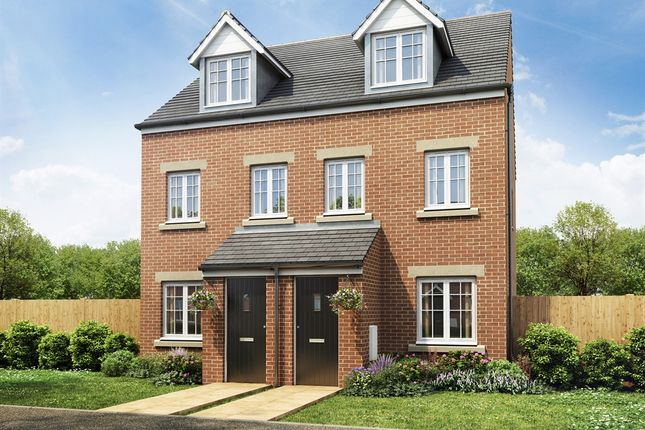 """Thumbnail End terrace house for sale in """"The Souter """" at Forge Wood, Crawley"""