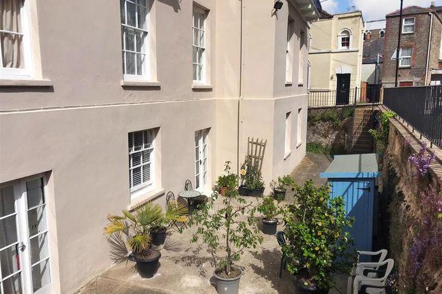 Courtyard of Brigstocke Terrace, Ryde, Isle Of Wight PO33