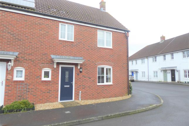 3 bed semi-detached house to rent in Honeymead Lane, Sturminster Newton DT10
