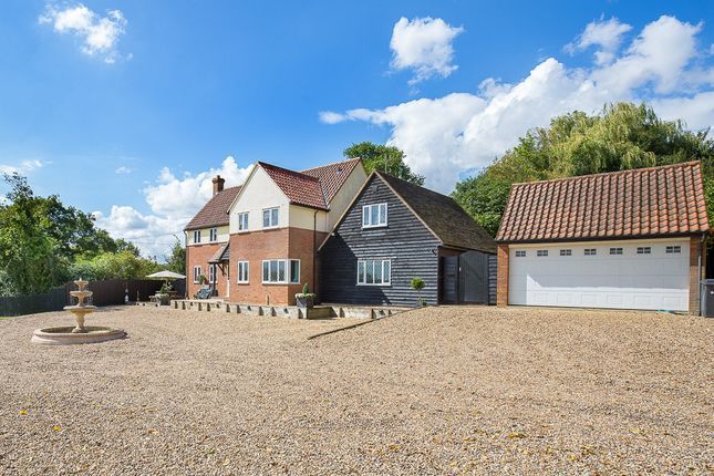 Thumbnail Detached house for sale in Church Hill, Helions Bumpstead, Haverhill