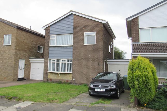 Thumbnail Detached house for sale in Harnham Grove, Cramlington
