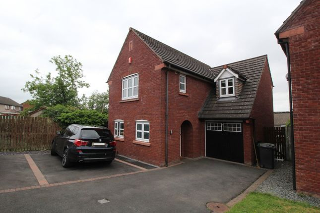 Thumbnail Detached house for sale in Chertsey Grove, Carlisle