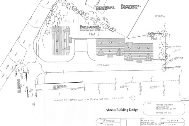 Thumbnail Property for sale in Building Plots, Milton Mains, Brampton, Cumbria