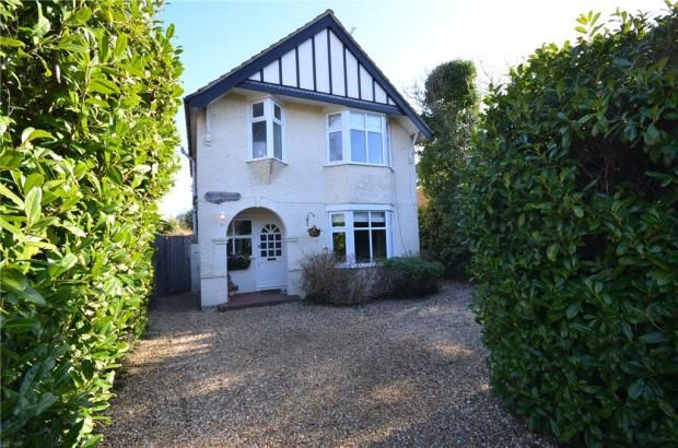 Thumbnail Detached house for sale in Atbara Road, Church Crookham, Fleet