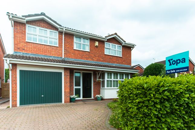 Thumbnail Detached house for sale in Whirlow Road, Wistaston, Crewe