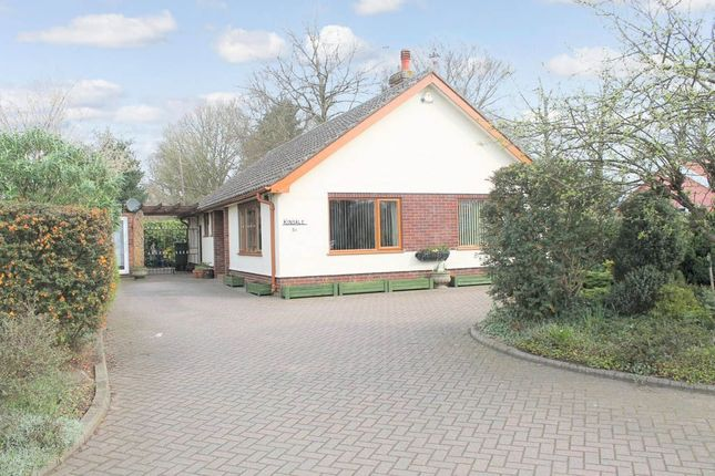 Thumbnail Detached bungalow for sale in Victoria Road, Diss