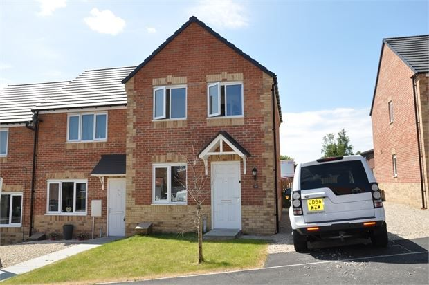 Thumbnail End terrace house for sale in Gibson Close, Haltwhistle