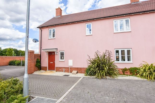 Thumbnail End terrace house for sale in Trowel Place, Colchester, Essex