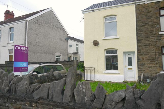 Thumbnail End terrace house to rent in Frederick Place, Llansamlet, Swansea