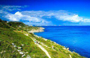 Coastal Path of Clovens Road, Portland, Dorset DT5