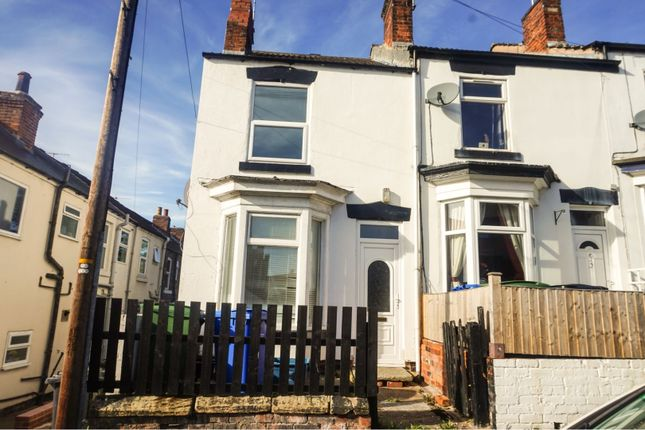 Thumbnail End terrace house to rent in Cavendish Street North, Chesterfield