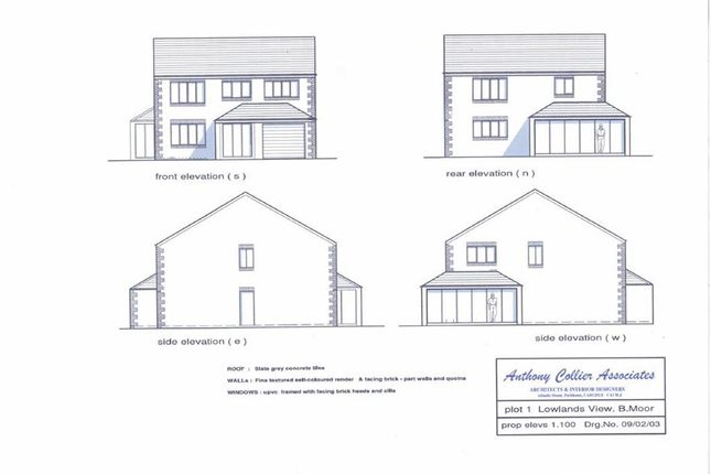 Thumbnail Land for sale in Lowland View, Broughton Moor, Maryport