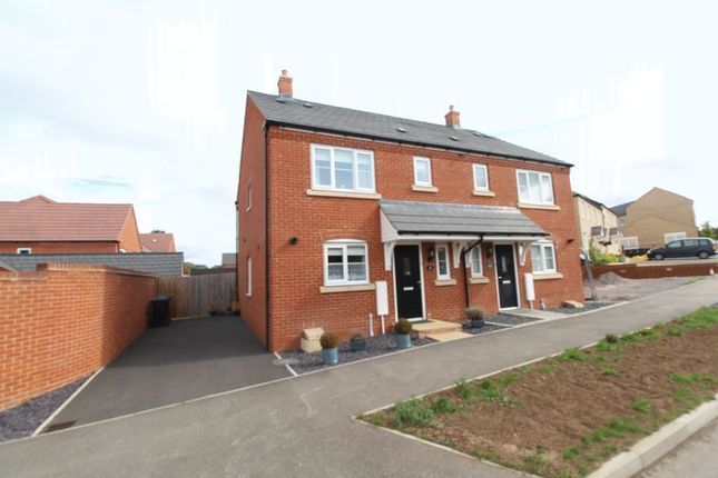 Thumbnail Semi-detached house for sale in Harvest Rise, Shefford