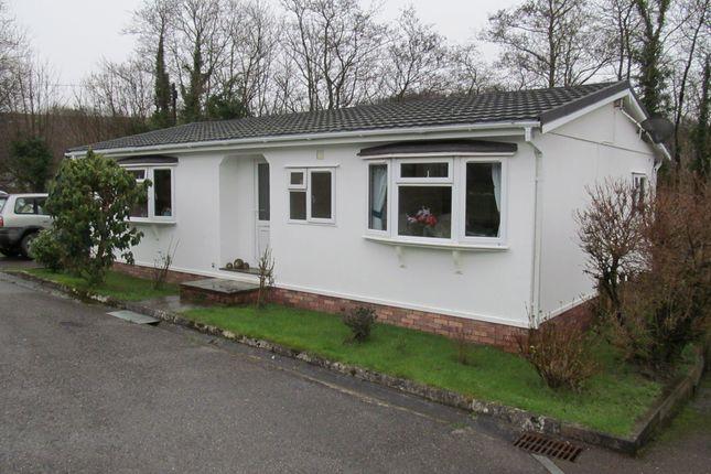Thumbnail Mobile/park home for sale in Silent Woman Park (Ref 5224), Moorshop, Tavistock, Devon