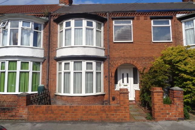 Thumbnail Terraced house to rent in Ormonde Avenue, Hull