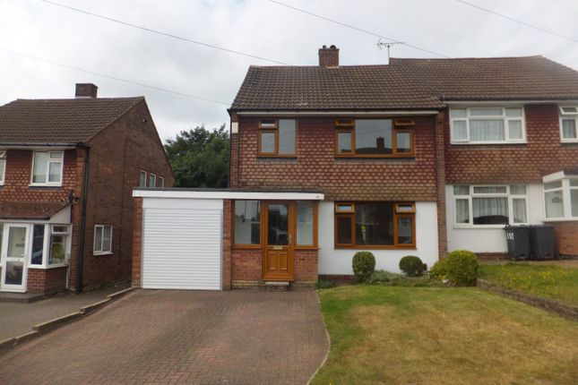 Thumbnail Semi-detached house for sale in Dower Road, Four Oaks