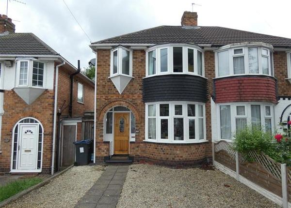 Thumbnail Semi-detached house for sale in Gilbertstone Avenue, South Yardley, Birmingham
