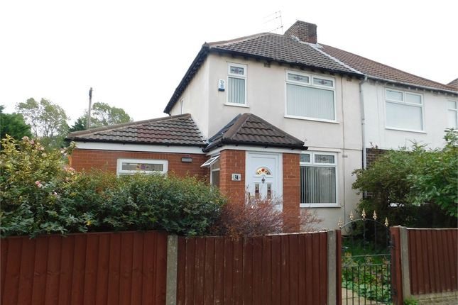 Thumbnail Semi-detached house to rent in Grasmere Gardens, Crosby, Liverpool, Merseyside