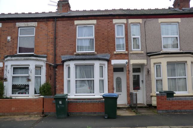 Thumbnail Terraced house to rent in Kingsland Avenue, Coventry