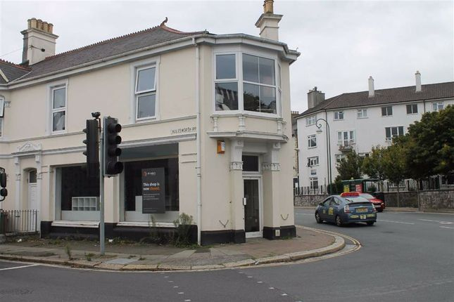 Thumbnail Retail premises for sale in 161, Molesworth Road, Plymouth