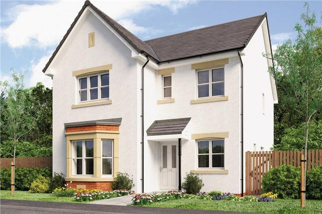 "Thumbnail Detached house for sale in ""Mitford"" at Broomhouse Crescent, Uddingston, Glasgow"