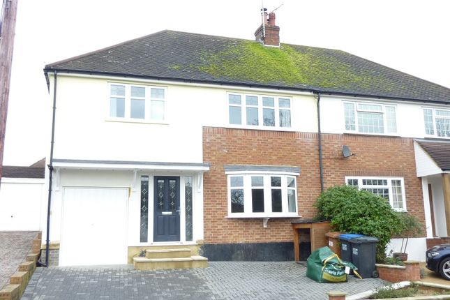 Thumbnail Semi-detached house to rent in The Gardens, Brookmans Park, Herts