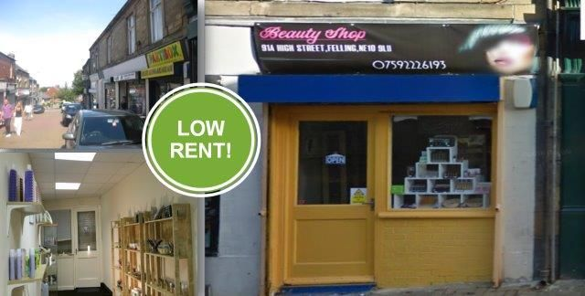 Retail premises to let in High Street, Felling, Gateshead