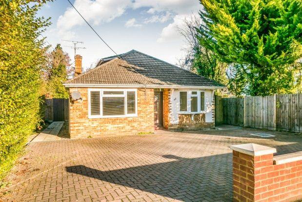 Thumbnail Detached bungalow to rent in Wood Street, Ash Vale, Aldershot