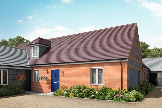 Thumbnail Semi-detached bungalow for sale in School Lane, Broughton, Hampshire