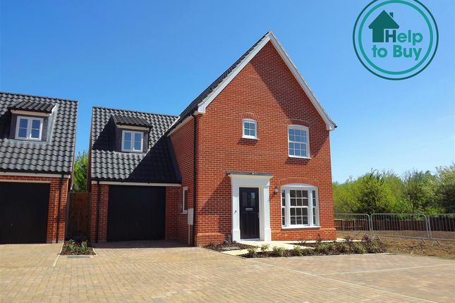 Thumbnail Property for sale in Plot 36, The Oxburgh, Springfield Grange, Acle