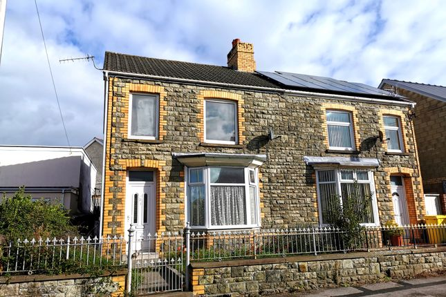 Semi-detached house for sale in Waunbant Road, Bridgend