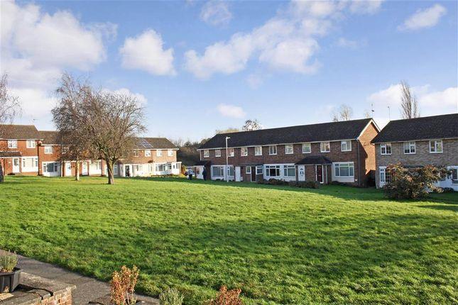 Thumbnail End terrace house for sale in Foxglove Green, Willesborough, Ashford, Kent