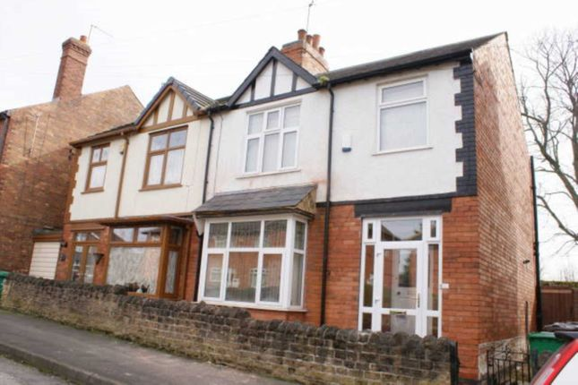 Thumbnail Semi-detached house to rent in Waterford Street, Nottingham