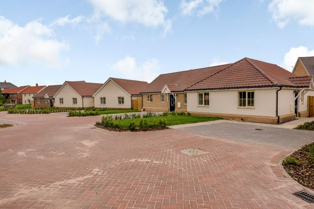 Thumbnail Bungalow for sale in Burns Drive, Stowmarket