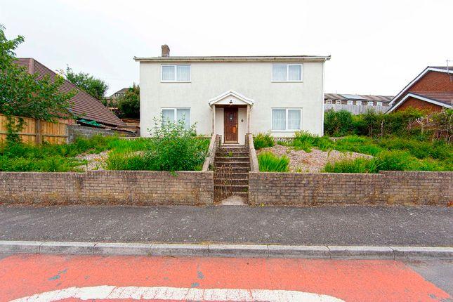 Thumbnail Detached house for sale in Taff Vale Estate, Edwardsville, Treharris