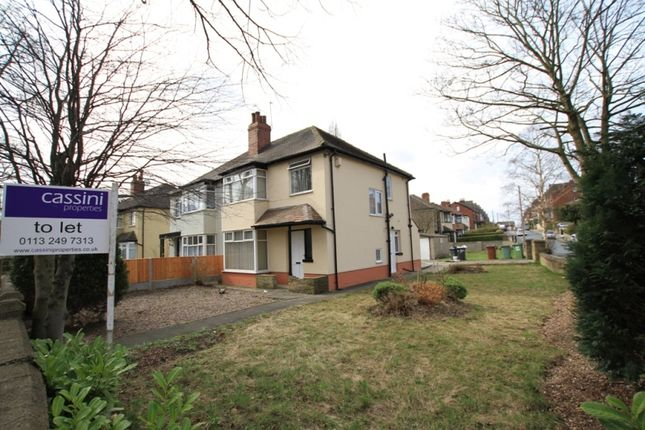 Thumbnail Semi-detached house to rent in Gledhow Valley Road, Roundhay, Leeds